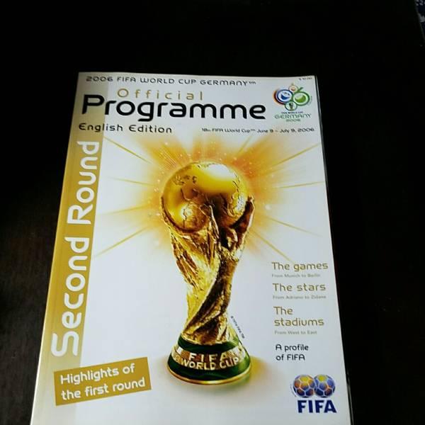 2006FIFAワールドカップ ドイツ大会オフィシャルプログラム English Edition