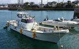 ヤンマー DE30EZ ドライブ船 135馬力 集魚灯 水中集魚灯 エンジン整備 ドライブ新品交換 全国発送可
