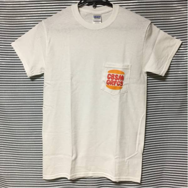 ★CUBISMO GRAFICO FIVE Tシャツ Sサイズ 白 CG5 / ラーナーズ LEARNERS koncos FBY ポケT★