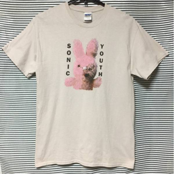 ★SONIC YOUTH DIRTY BUNNY Tシャツ Mサイズ ソニックユース ウサギ / never young beach 小松菜奈★