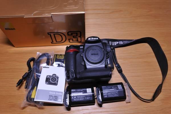 Nikon D3ボディ 動作品 バッテリー2個付き