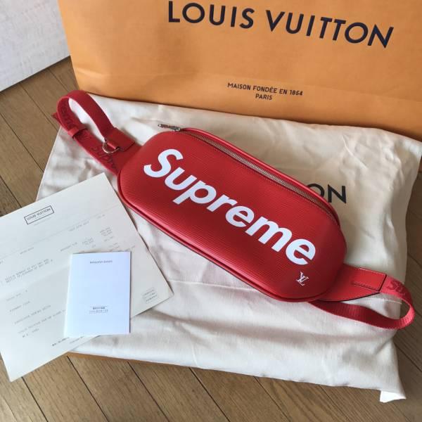 国内正規品 17AW Supreme Louis Vuitton Bumbag PM ショルダーバッグ シュプリーム ルイヴィトン