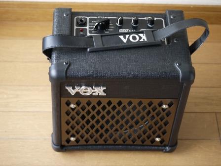 極上品■VOX ヴォックス DA5 MINI5 ギターアンプ 電池駆動