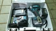 ≪良品≫マキタ 充電式インパクトドライバ 14.4V 3.0Ah 青 TD134DX2
