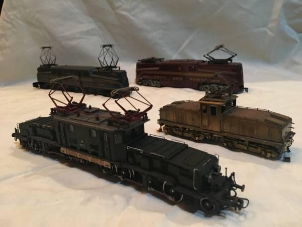 鉄道模型( 4台セット )ジャンク品/メーカー不明/PENNSYLVANIA/4173/4828