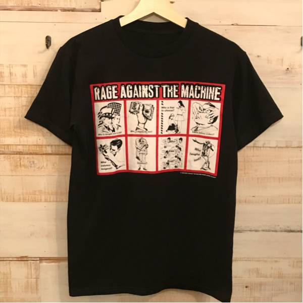 RAGE AGAINST THE MACHINE Tシャツ S M / レイジ アゲインスト ザ マシーン 90s パーバラクルーガー ビンテージ レッチリ NIRVANA raptee