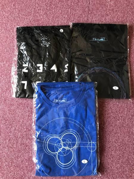 PERFUME TシャツLサイズ3枚未開封新品 ライブグッズの画像