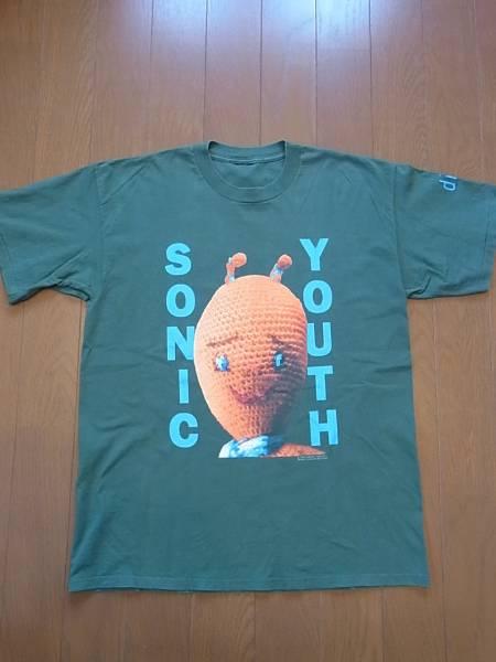 90'S ソニックユース SONIC YOUTH ビンテージ Tシャツ NIRVANA スマシング パンパンプキンズ メタリカ ロックT  ライブグッズの画像