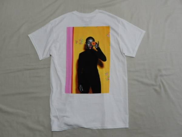 新品未使用SADEシャーデープリントTシャツ WHT L