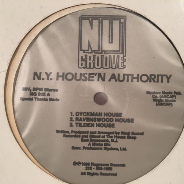 ☆N.Y. House'n Authority/Dyckman House☆US RAW ACID HOUSE!_画像1