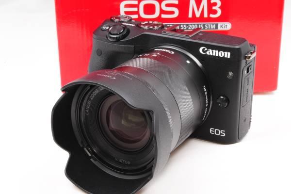 ★Wi-Fi&自撮り★キャノン Canon EOS M3 ★極上美品★