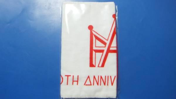 AAA◆10th Anniversary◆ マフラータオル・フェイスタオル◆伊藤千晃 赤◆新品