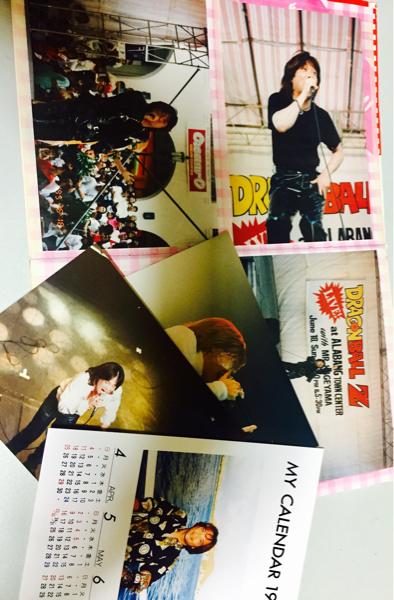 影山ヒロノブ4★ファンクラブ限定生写真2×12枚セット+カレンダー1999年カード