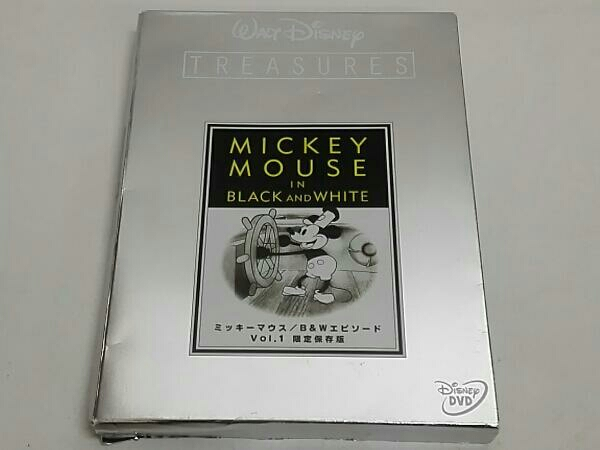 ミッキーマウス B&Wエピソード Vol.1 限定保存版 ディズニーグッズの画像