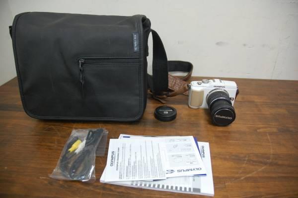 OLYMPUS PEN E-PL2 デジタル一眼 9-18mm レンズ、カメラバッグ付