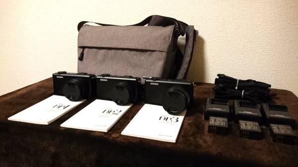 【ほぼ新品】DP1 Merrill DP2 Merrill DP3 Merrill + カメラバッグ(ハクバ)