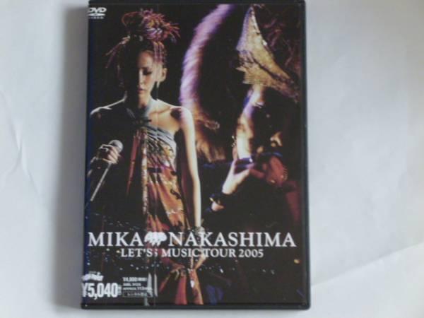 中島美嘉 LET'S MUSIC TOUR 2005 帯付 ライブグッズの画像