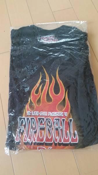■新品未使用■ B'z LIVE-GYM PLEASURE '97 FIREBALL  半袖 Tシャツ  / ツアー限定品