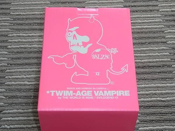 TWIM-AGE VAMPIRE フィギュア ピンク 限定 BALZAC TWIM Hi-STANDARD PIZZA BRAHMAN ライブグッズの画像