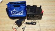 電動リール用バッテリー シーキング12V /12AH  実釣なし1回充電のみ