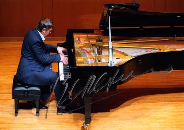 ピアニスト ボリス・ベレゾフスキー Boris Berezovsky 直筆サイン入り写真 2Lサイズ