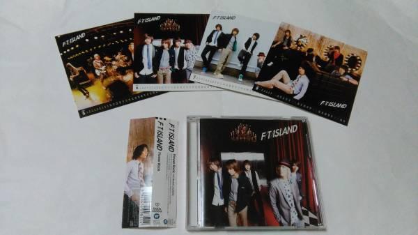 FTIsland F/T/ISLAND CD ☆Flower Rock☆ 初回盤B 帯付き