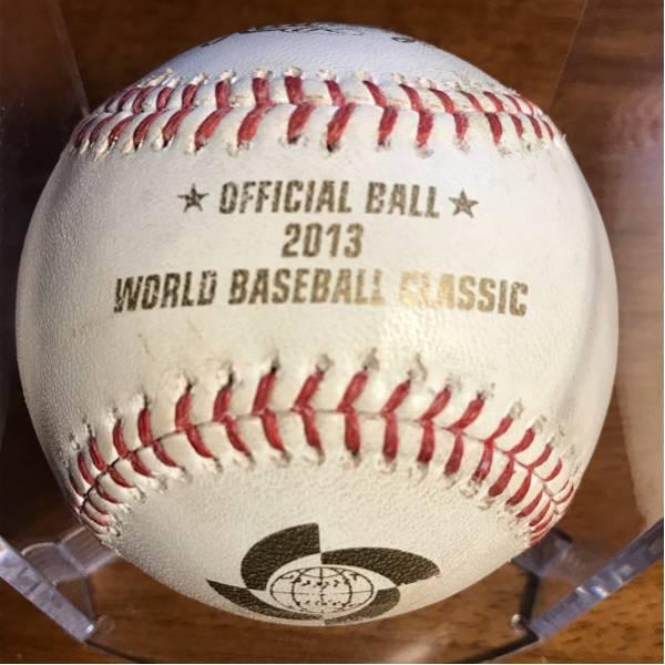 WBC使用ボール!、2013年準決勝・ドミニカvs.オランダ、MLB管理サイトの履歴保証付き!(069116)