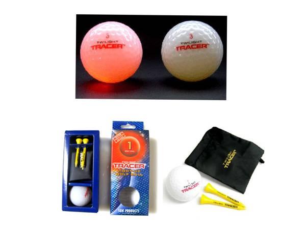 ゴルフ ナイト ボールTwilight Tracer Light-Up Night Golf Ball 3-Ball Pack by Golfmax 正規輸入品