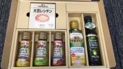Jーオイルミルズ 株主優待 豊年大豆レシチン 食用オリーブ油 栄養オイル 他6点詰め合わせ1箱 3箱まで