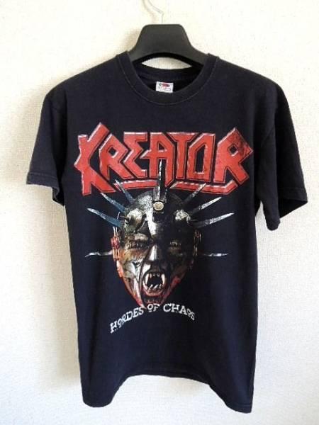 KREATOR クリーター ヨーロッパツアーTシャツ S スラッシュメタル クリックポスト