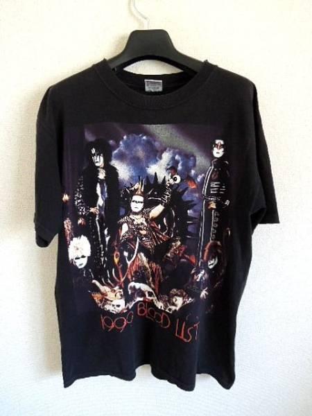 聖飢魔Ⅱ 1999 blood list ロックTシャツ L デーモン小暮 閣下 ヴィンテージ クリックポスト