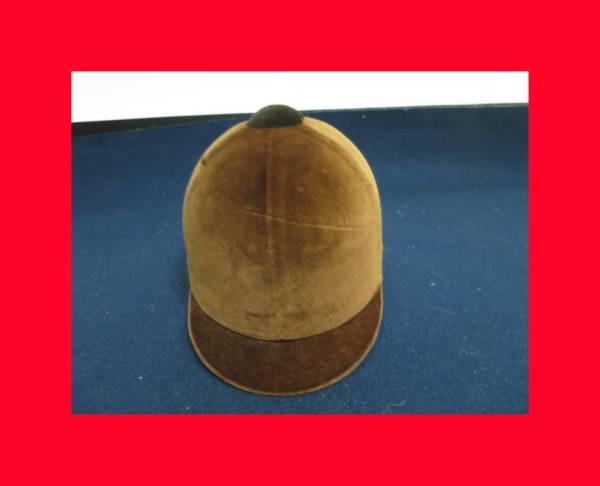 【古都京都】「乗馬帽子A-506」家具・民具・調度品.蒔絵・置物・時代箪笥〝家〟_乗馬ヘルメットです。