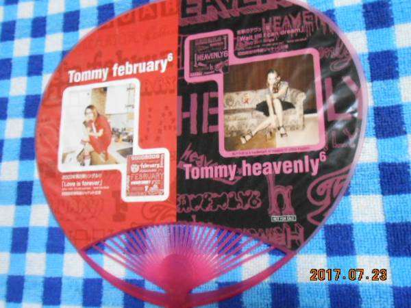 Tommy february6☆Tommy heavenly6【HMV】うちわ♪