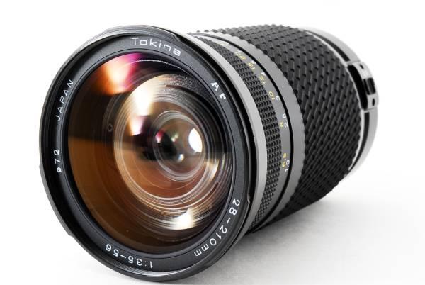 Tokina AF 28-210mm F3.5-5.6 Canon 万能ズームレンズ