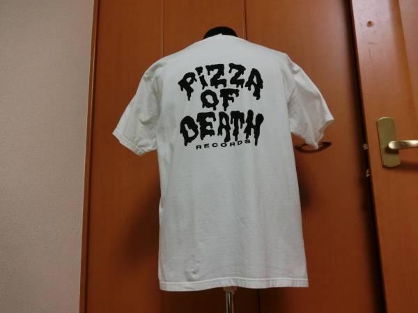 ピザオブデス Tシャツ PIZZA OF DEATH ハイスタンダード Hi-STANDARD 横山健 難波章浩 恒岡章 ピザ オブ デス ハワイアン6 WANIMA ワニマ ライブグッズの画像