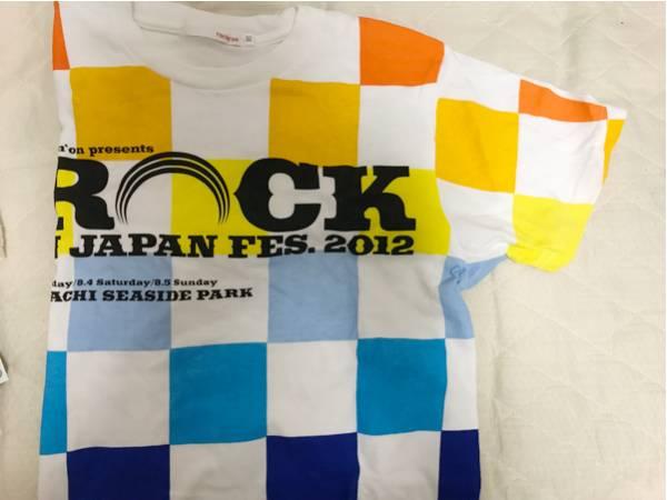 ロッキンジャパンROCKINJAPAN2012Tシャツフジロック ライブグッズの画像