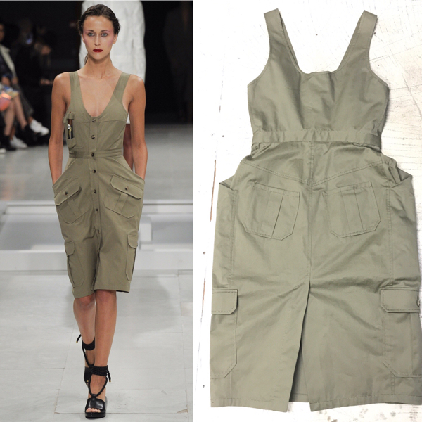 SS2016 CHALAYAN JUMPER SKIRT WITH CIGAR POCKET チャラヤン ワンピース
