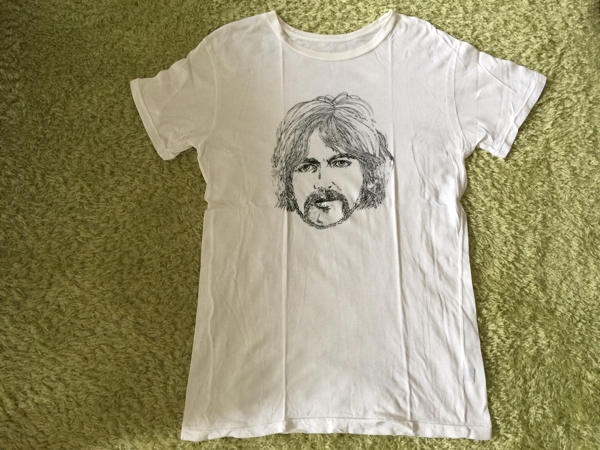 Vintage Tシャツ ジョージハリスン George Harrison Beatles ビートルズ ボブディラン Bob Dylan Eric Clapton エリッククラプトン ライブグッズの画像