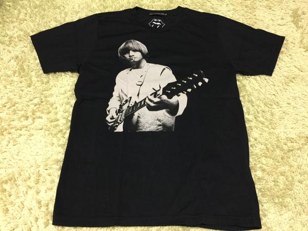 美品 古着Tシャツ ブライアンジョーンズ ローリングストーンズ ヒステリックグラマー Brian Jones Rolling Stones Hysteric xxx ライブグッズの画像