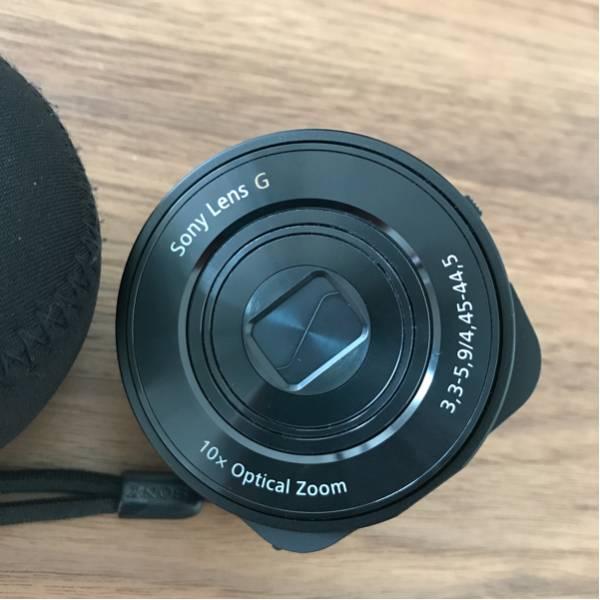 中古 ソニー デジタルカメラ サイバーショット レンズスタイルカメラ QX10 ブラック DSC-QX10/B