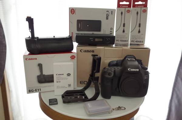 Canon EOS 5DsR BG-E11 W-E1 WFT-E7B バッテリーグリップ ワイヤレス トランスミッター