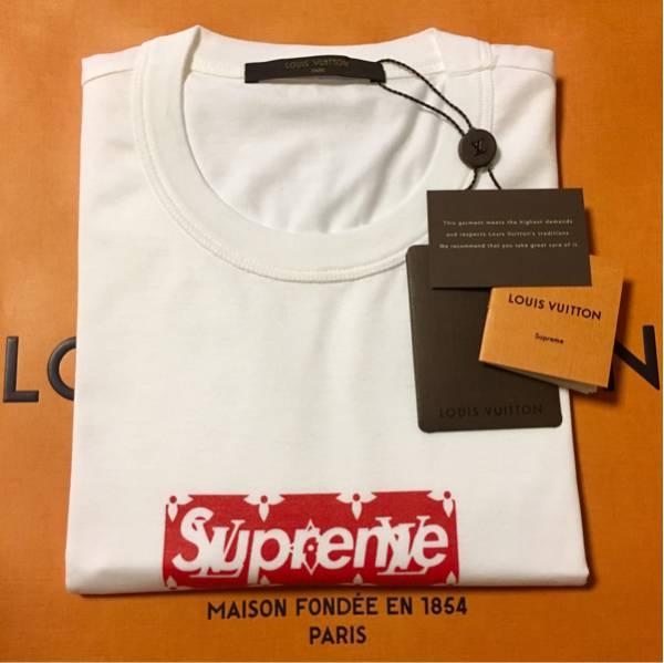 Louis Vuitton × Supreme Box Logo Tee M サイズ ボックスロゴ Tシャツ モノグラム ルイヴィトン シュプリーム 7/7購入【一般販売中止】