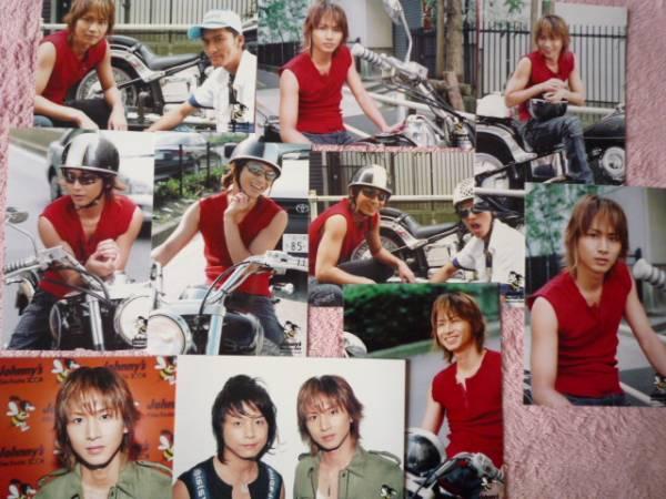 KinKi Kids堂本光一2004年ジャニーズフィルムフェスタ公式写真10枚