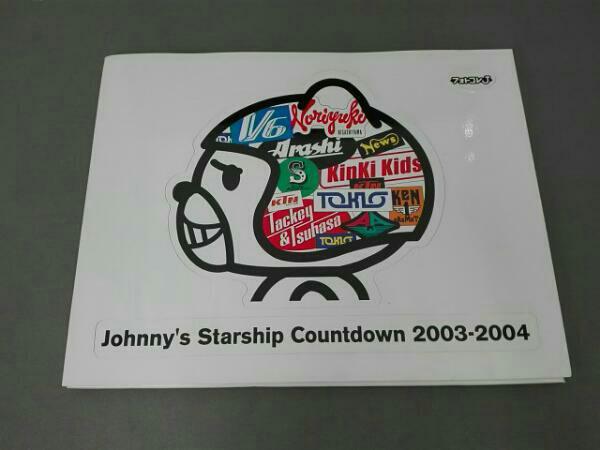 Johnnys Starship Countdown 2003-2004 TOKIO KinKi Kids V6 嵐 タッキー&翼 NEWS KAT-TUN