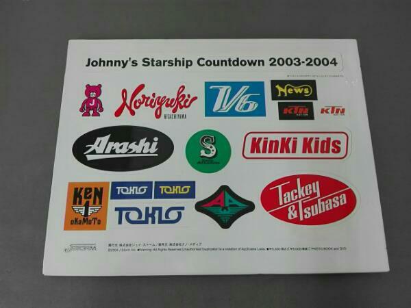 Johnnys Starship Countdown 2003-2004 TOKIO KinKi Kids V6 嵐 タッキー&翼 NEWS KAT-TUN_画像2