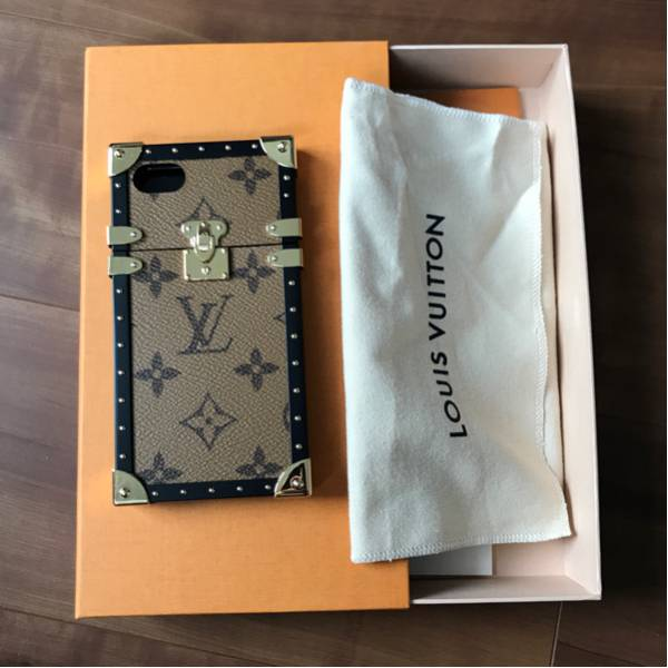 LOUIS VUITTON ルイヴィトン EYE TRUNK IPHONE7 CASE アイフォンケース_画像1