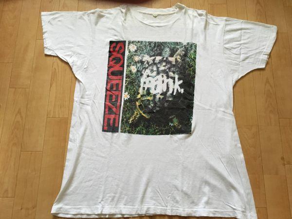 80s Squeeze スクイーズ オリジナル ビンテージ Tシャツ