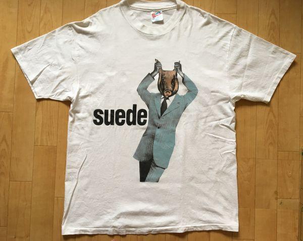 90s Suede スウェード オリジナル ビンテージ Tシャツ