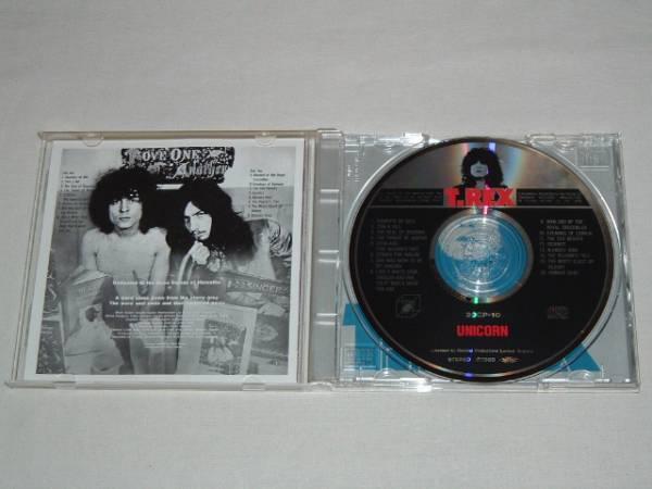 TYRANNOSAURUS REX/UNICORN/CDアルバム ティラノザウルス レックス ユニコーン T.Rex Marc Bolanマーク ボラン_画像3