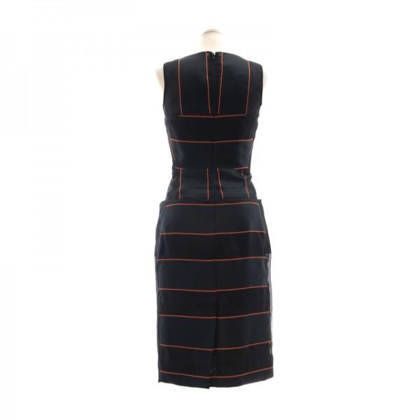 新品 ヴィヴィアンウエストウッド シルクミックス ドレス ブラック(黒)38(Mサイズほど) 定価15万 ★VIVIENNE WESTWOOD RED LABEL 送料無料_画像2